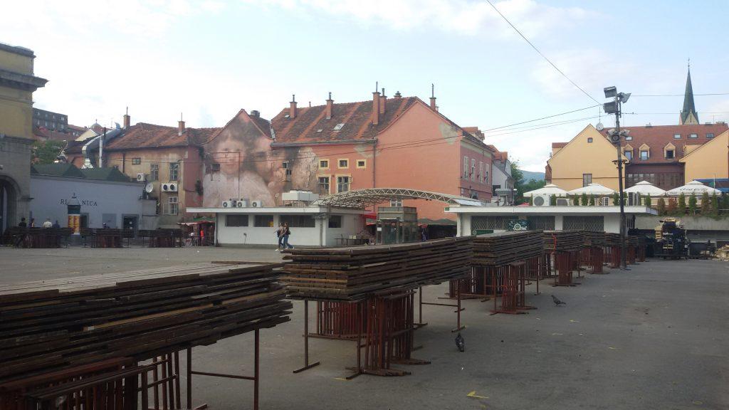 Mercado Dolac recogido