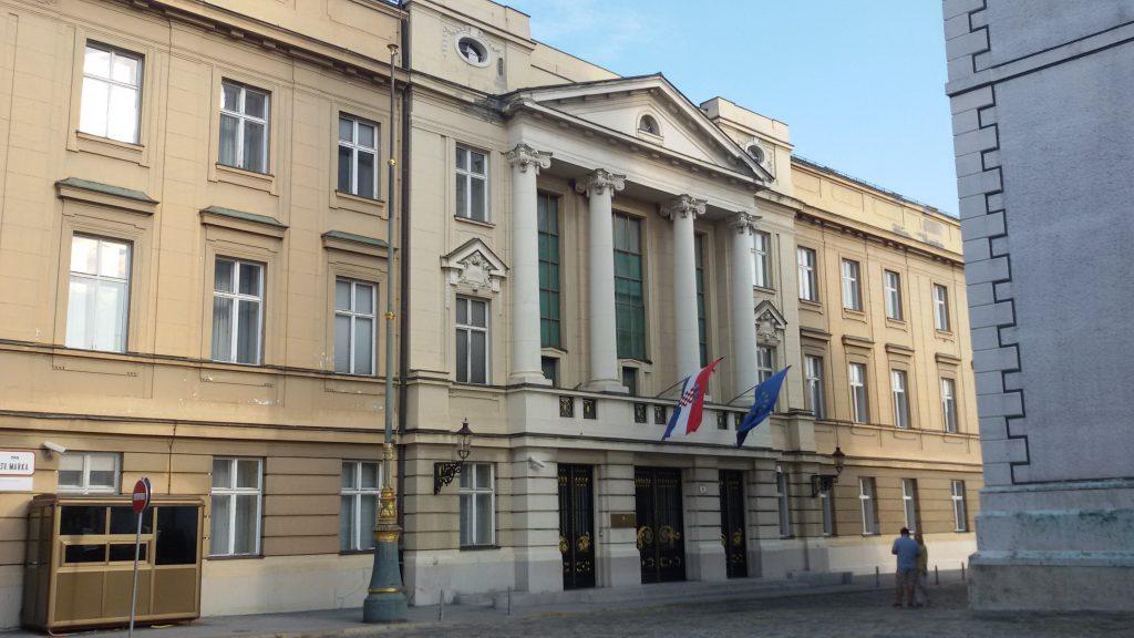 El parlamento de Croacia
