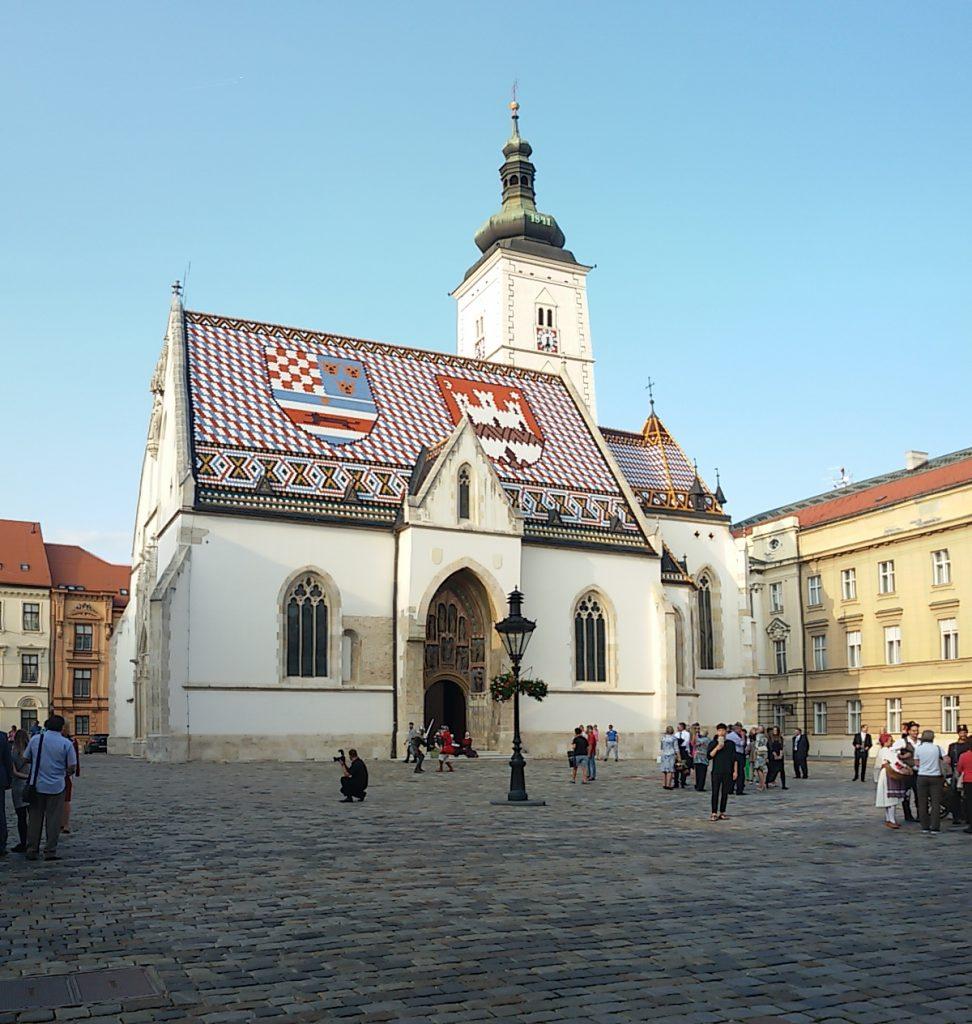 La iglesia de San Marcos - Zagreb