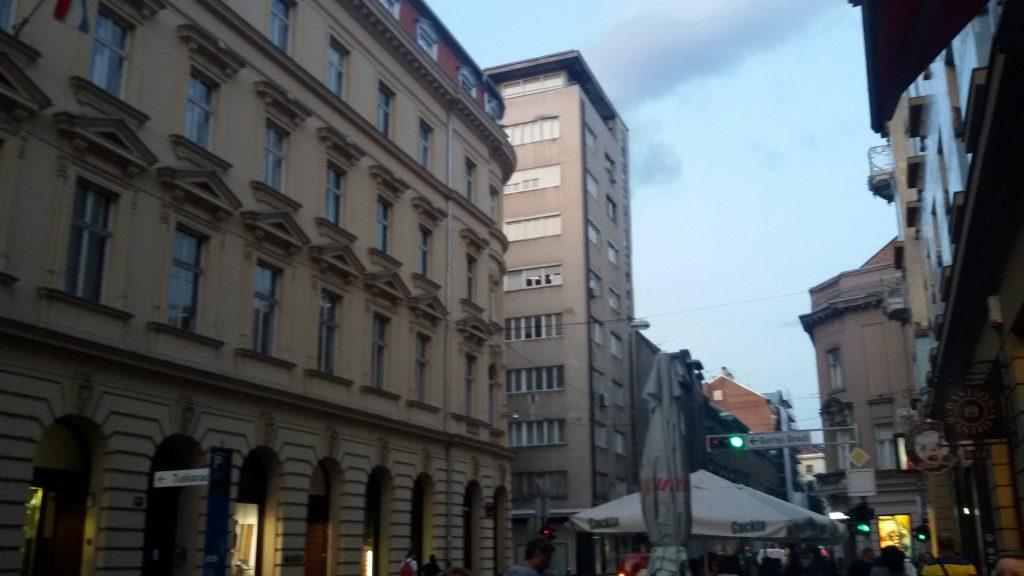 El primer rascacielos de Zagreb