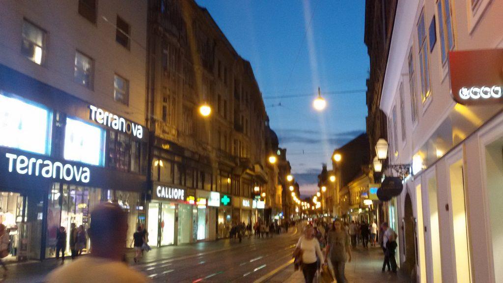 La calle Ilica
