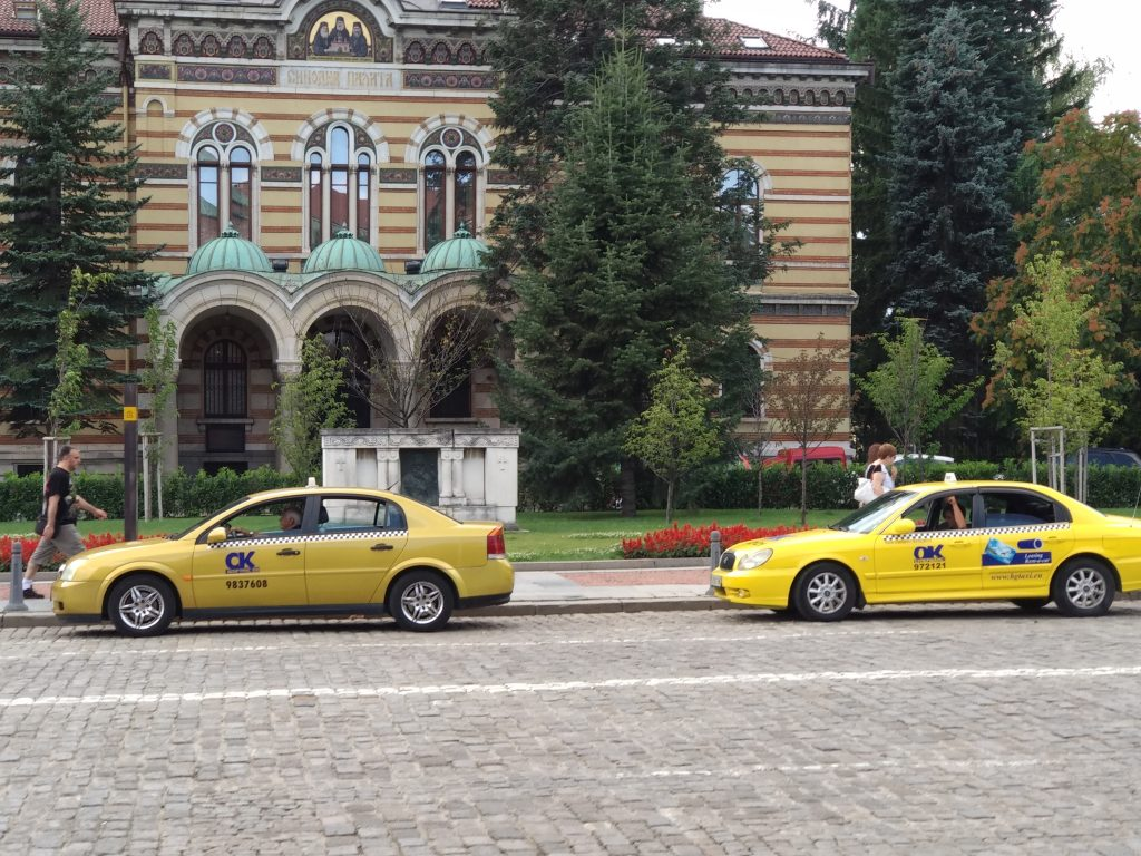 Taxis en Sofia