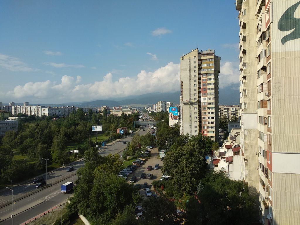 Vistas desde el hotel Metropolitan