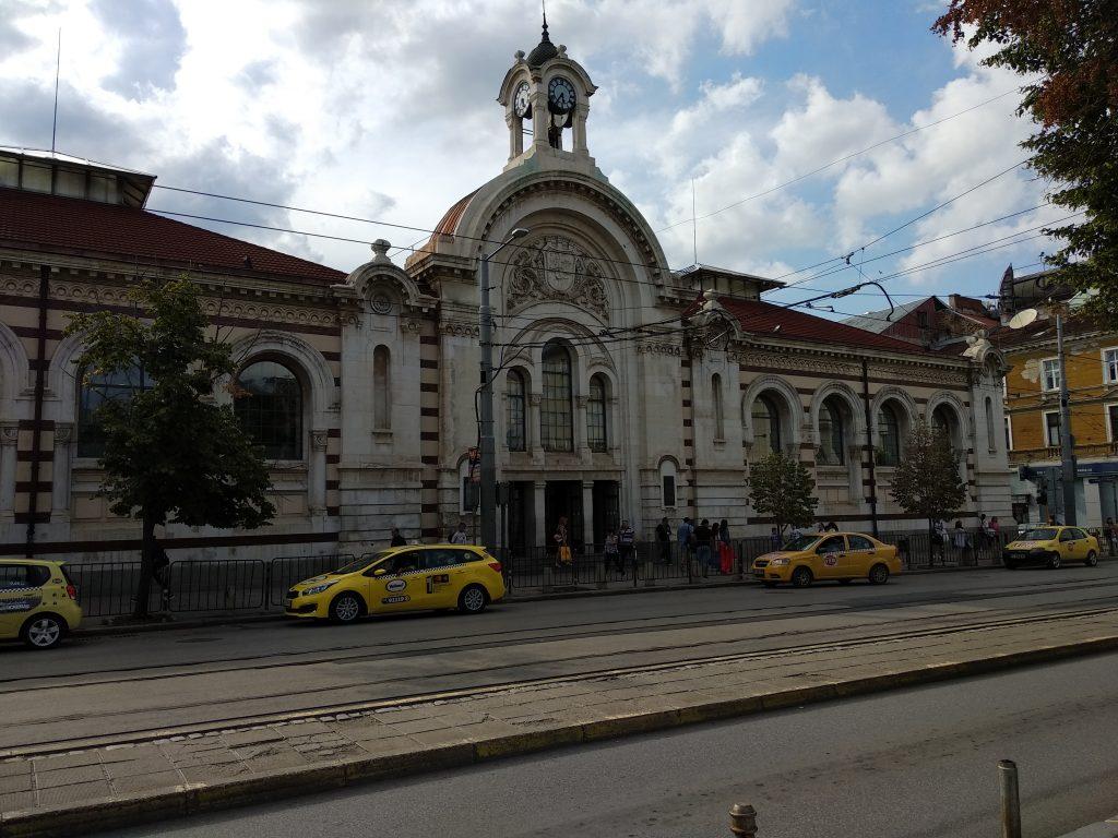 Exterior del Mercado Central de Sofia