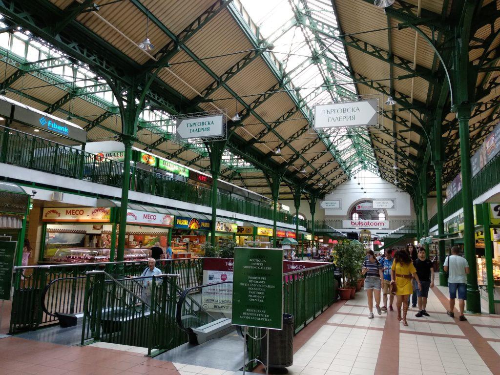 Interior del Mercado Central de Sofia