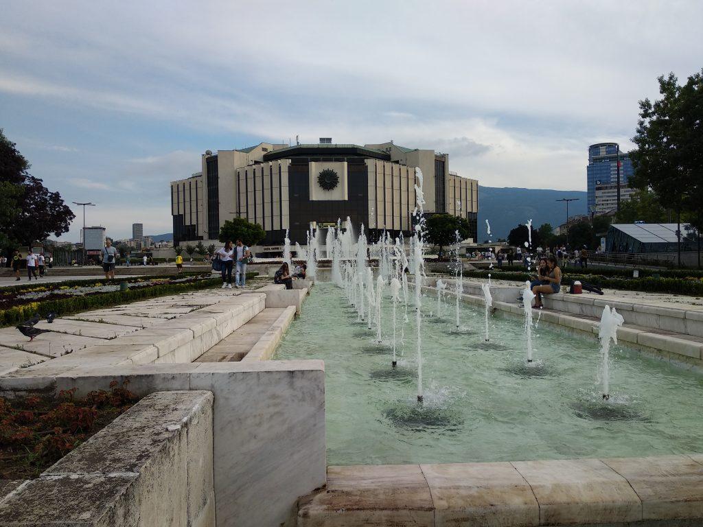 Palacio Nacional de Cultura en Sofia - Bulgaria