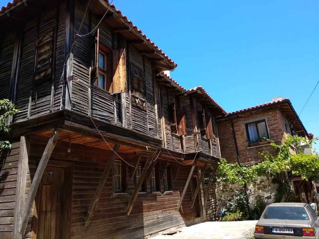 Casas típicas de Nesebar